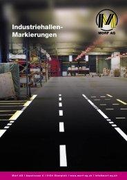 Industriehallen-Markierungen (PDF 176KB) - Morf AG
