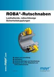 ROBA®-Rutschnaben - Mayr