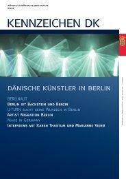 KENNZEICHEN DK - Tyskland, Berlin