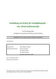 Absolvent⁄innenstudie - Kirchliche Pädagogische Hochschule Graz
