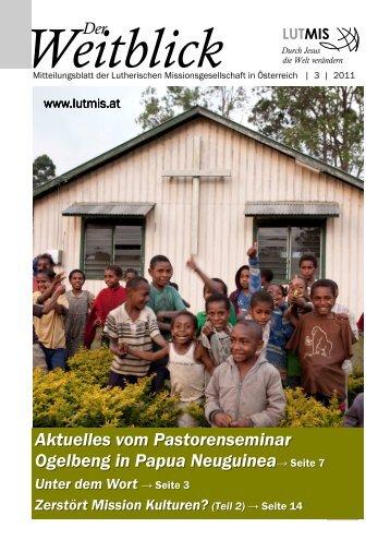 Der Weitblick 3/2011 - LUTMIS