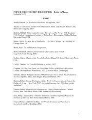 bibliography 4-14-13 - Grand Guignolers