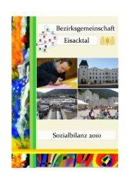2009 2010 - Bezirksgemeinschaft Eisacktal