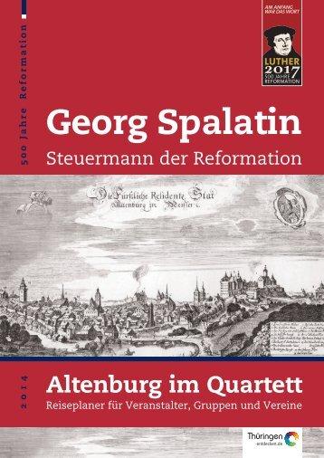 Salesguide Georg Spalatin und Reformation - Altenburg Tourismus