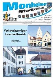 letzten Ausgabe - Stadt Monheim