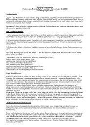 """Seminar Lebenswerte Notizen zum Thema """"Opfer ... - VCH Akademie"""