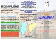 Taxe d'Aménagement : TA - Lauzerte