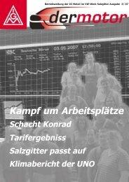 2007-03 Motor - IG Metall Salzgitter-Peine