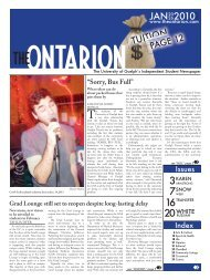 JAN 2010 - The Ontarion