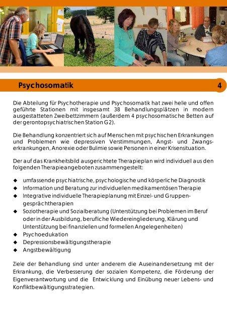 Broschüre - Kommunalunternehmen Kliniken und Heime des ...