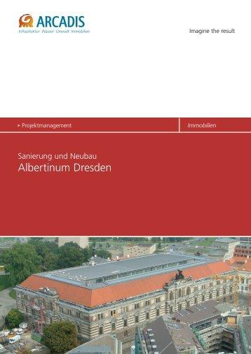 Sanierung und Neubau Albertinum Dresden - ARCADIS Deutschland