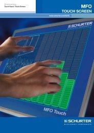 MFO Touch Screen - SCHURTER