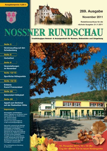 November 2011 - Nossner Rundschau