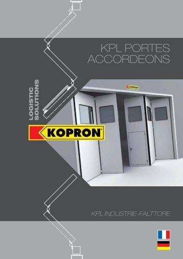 Download PDF - Kopron - Kopron Spa