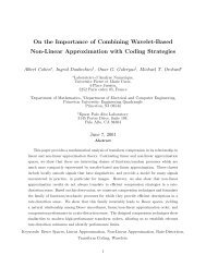 On the Importance of Combining Wavelet-Based Non-Linear ...