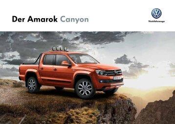 Der Amarok Canyon - VW Nutzfahrzeuge
