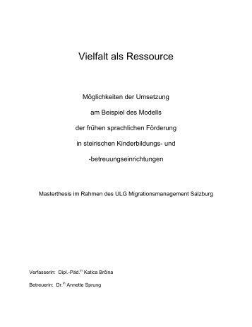 Vielfalt als Ressource - Österreichischer Integrationsfonds