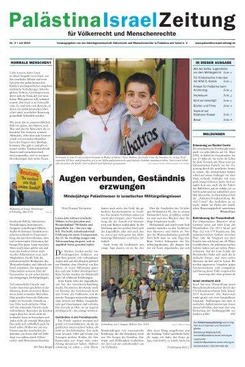 Weiterlesen - Palästina Israel Zeitung Willkommen
