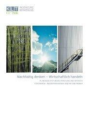 Broschüre Energie - KLT-Consult GmbH