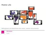 TNS Mobile Life 2013 – globale Basisstudie - TNS Infratest
