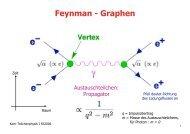 Feynman - Graphen - CERN