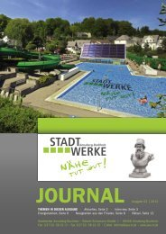 Ausgabe 03/2013 - Stadtwerke Annaberg