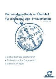 Spezielle Fondspalette - nur für die Produktlinie ... - Continentale