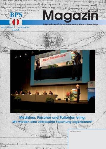 BPS-Magazin 03/08 - Urologenportal