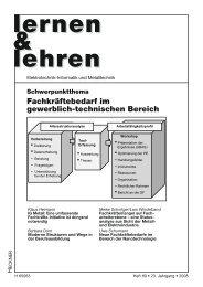 Heft 89 - Lernen & Lehren