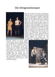 Die Dreigroschenoper (01/2002) - Rudolf Steiner Schule Lüneburg