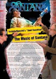 Soul Sacrifice The Music of Santana - claus spechtl