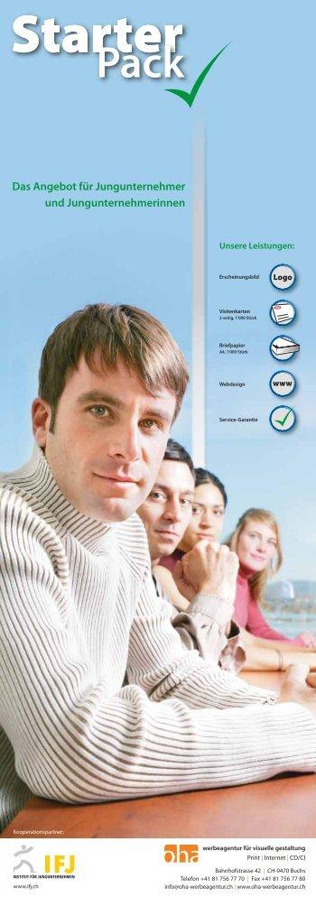 Das Angebot für Jungunternehmer und ... - eStarter.ch