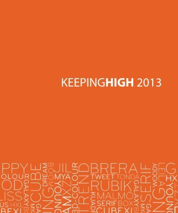 Loungekonzept_Keepinghigh Collection