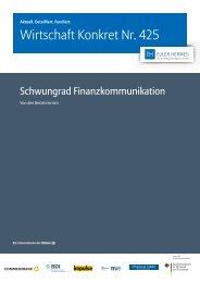 Wirtschaft Konkret Nr. 425 - Finanzkommunikation im Mittelstand