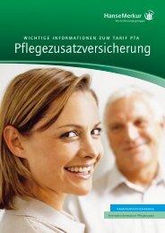 pflegezusatzversicherung - Private Pflegeversicherung