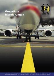 Gespritzte Markierungen (PDF 172KB) - Morf AG