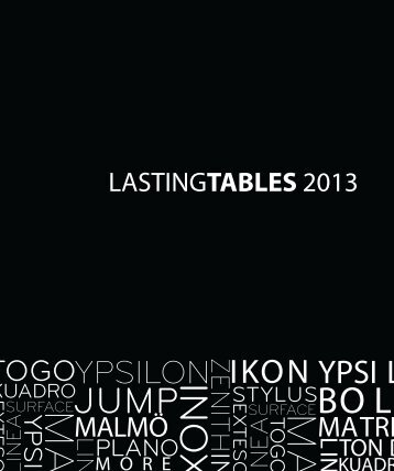Loungekonzept_Lastingtables Collection
