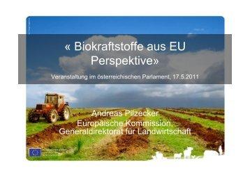 « Biokraftstoffe aus EU Perspektive»
