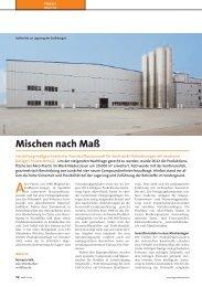 Mischen nach Maß - AKRO-PLASTIC GmbH