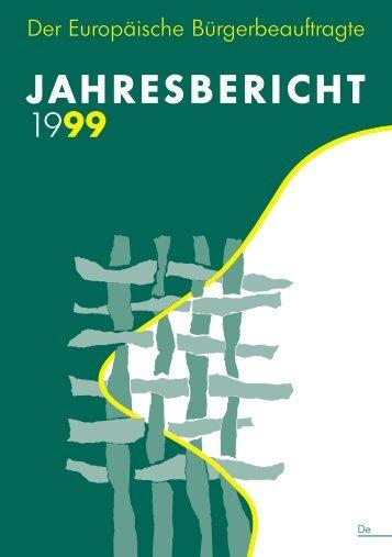 JAHRESBERICHT 1999 - EOI