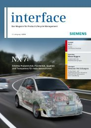 Interface 01/2010 - FEM - Berechnung