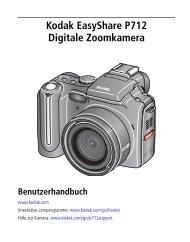 Kodak EasyShare P712 Digitale Zoomkamera - Download ...