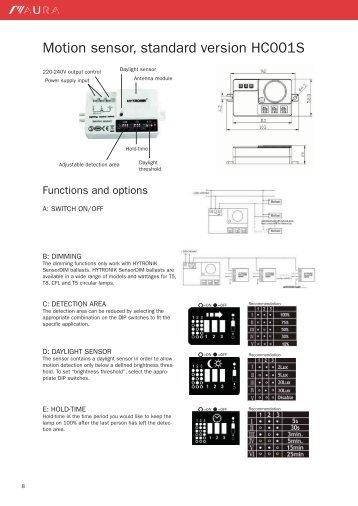 clipsal motion sensor instructions