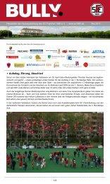Bully Newsletter Mai 2013 - zum SC Frankfurt 1880