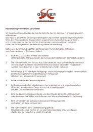 können Sie unsere Hausordnung als PDF runterladen - SC-Genner