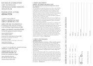 Generalprogramm 2013/2014 - Basler Gesangverein