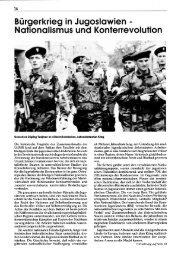 Bürgerkrieg in Jugoslawien: Nationalismus und Konterrevolution. In ...
