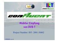 Mobiler Empfang von DVB-T Mobiler Empfang von DVB-T