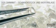 Der Diamant - SchmuckStück unD Wertanlage