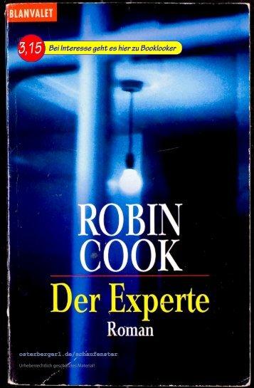 Robin Cook Der Experte